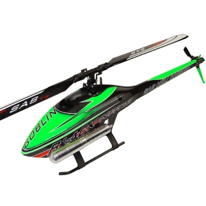 GOBLIN BLACK NITRO 700 GREEN/CARBON (With ThunderBolt Main And Tail Blades)