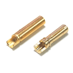 UP-AM1003F-1 Hi Amper Euro 4mm Gold Connector Male & Female (1pair)