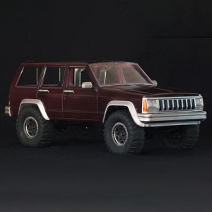 TRC/302206 Cherokee XJ Hard Plastic Body Kit 313mm For Axial SCX10 RC4WD