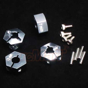 AX010/12X7MM-GS GPM Aluminum Alloy Hex Adapter 12mmX7mm For Axial Exo Scx10 Wraith