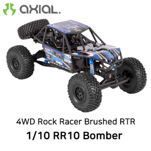 AX90048 AXIAL 1/10 RR10 Bomber 4WD Rock Racer Brushed RTR