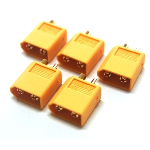 UP-XT60-3 XT60 Male Connector (5pcs)