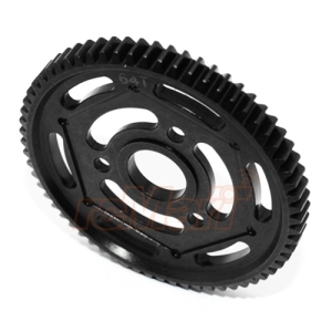 YT064TS-BK GPM Steel Spur Gear 32 Pitch 64T 1 pc Black For Axial Yeti Yeti XL