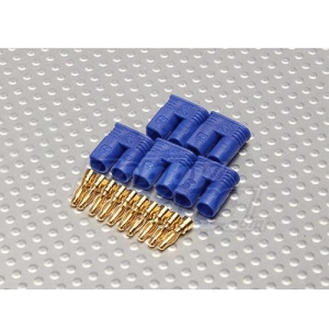 258000008 Turnigy EC2 Female - ESC Connector (5pcs/bag) 21736