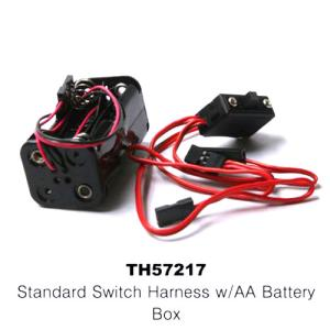TH57217 SWITCH HARNESS & BATTERY BOX (7215 + 7216)