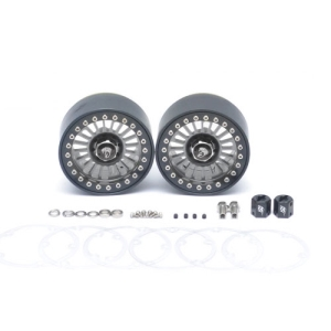BRW780905GM Venomous KRAIT™ 2.2 Aluminum Beadlock Wheels With 8mm Wideners (2) Gun Metal