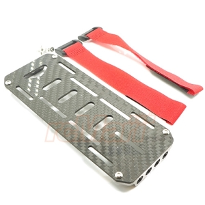 XS-SCX22504 Xtra Speed Aluminum & Carbon Graphite Battery Tray For Axial SCX10