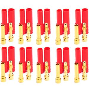 UP-AM1009C-3 HXT 4mm / 4mm Bullet Connector (10pair)