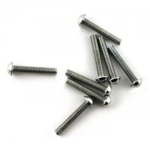 "[LOSA6279] Team Losi 5-40x3/4"" Button Head Screws (8)"