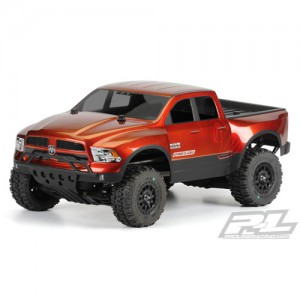AP3420 2013 Ram 1500 True Scale Clear Body for PRO-2 SC Slash Slash 4X4 and SC10 (requires extended body mount kit)