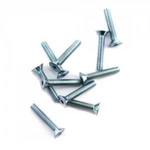 "[LOSA6272] Team Losi 5-40x3/4"" Flat Head Screws (10)"