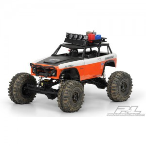 AP3373 1973 Ford Bronco Clear Body for Axial Wraith