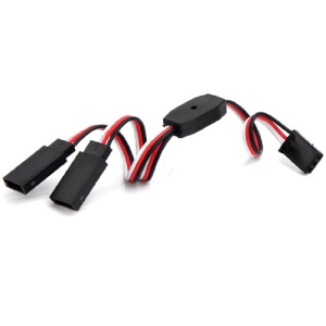 UP-AM3001-2 FUTABA TYPE Servo Y-Lead 15cm (26awg) (1개입)