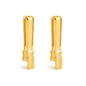 UP-AM1003F Hi Amper Euro 4mm Gold Connector Male 2PCS