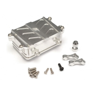 BR233021S Aluminum Receiver Box - 1 Pc Silver [RECON G6 The Fix Certified]
