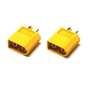 UP-XT60-5 XT60 Male Connector (2pcs)