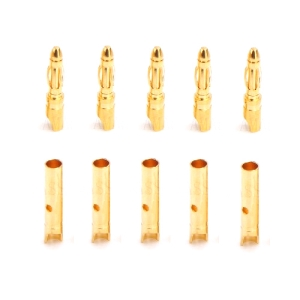 UP-AM1002B 2mm Gold Connector 5Pairs