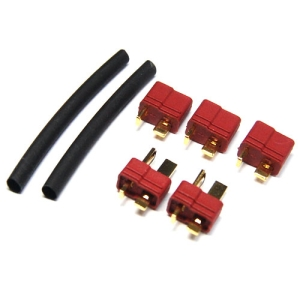 UP-DEANS1 Deans Connector Set - Male(2), Female(3)