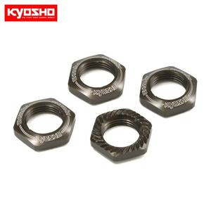Wheel Nut (Gunmetal/4pcs/for Serration)