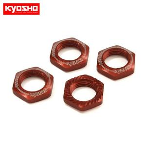 Wheel Nut (Red/4pcs/for Serration)