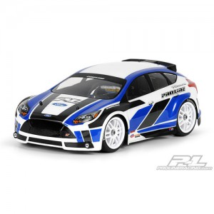 AP3353 2012 Ford Focus ST Clear Body for 1:16 Rally