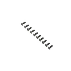 Flat Head Screws, M4x12mm (10)