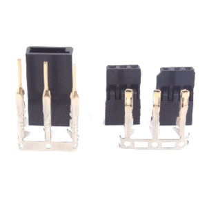 UP-AM1021A FUTABA Servo Connector Set (Male & Female 1set)