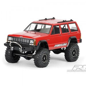 AP3321 1992 Jeep Cherokee Clear Body for 1:10 Scale Crawlers