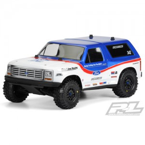 AP3423 1981 Ford Bronco Clear Body for PRO-2 SC Slash Slash 4x4 and SC10 (requires extended body mount kit)