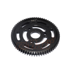 YT066TS-BK GPM Steel Spur Gear 32 Pitch 66T 1 pc Black For Axial Yeti Yeti XL