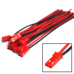 UP-AM9017A Male JST BEC Silicone cable (10pcs/bag)(9683,AM-9017A)