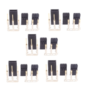 UP-AM1021B-5 JR Servo Connector Set (Male & Female 5pair/set)