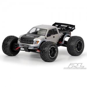 AP3360 Ford F-150 Raptor SVT Clear Body for 1:16 E-REVO