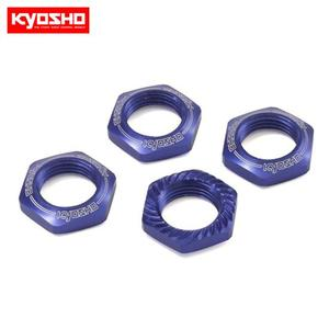Wheel Nut (Blue/4pcs/for Serration)