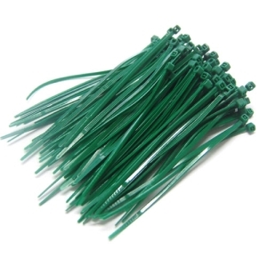 UP-24545GR Color Cable Tie 10cm - 100개 (Green)