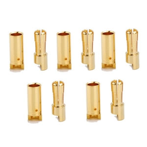 UP-AM1005A 5.5mm Gold Connectors 5pairs (10pcs)