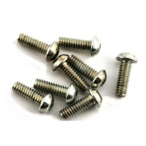 "[LOSA6277] Team Losi 5-40x3/8"" Button Head Screws (8)"