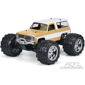 AP3244 1980 Chevy Blazer Clear Body for T/E/2.5-MAXX REVO Savage and 1:10 Crawler