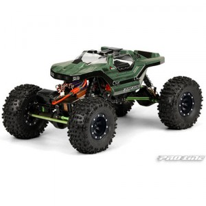 AP3268 Helios Clear Body for AX10 Scorpion and Wheely King