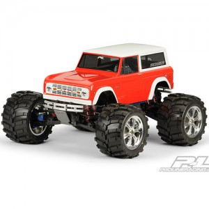 AP3313-60 1973 Ford Bronco Clear Body for T/E/2.5-MAXX REVO Savage and 1:10 Rock Crawler