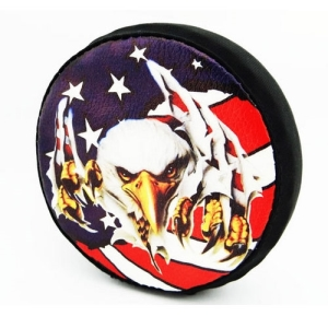 SCX36117E 1/10 Scale American Eagle Spare Tire Cover - Scx10 (toy)
