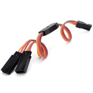 UP-AM3003-1 JR TYPE Servo Y-Lead 15cm (22awg) (1개입)