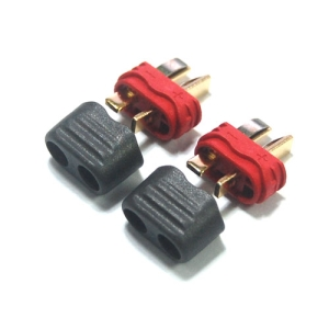 UP-AM1015E-M NEW Deans Connector with Housing (Male 2pcs)