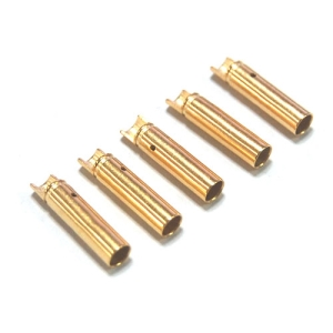 UP-AM1003F-2 Hi Amper Euro 4mm Gold Connector Female (5pcs)