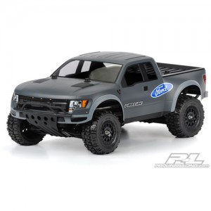 AP3389 True Scale Ford F-150 Raptor SVT Clear Body for PRO-2 SC 2WD/4x4 Slash SC10 (Requires Pro-Line Extended Body Mount Kit Sold Separately)