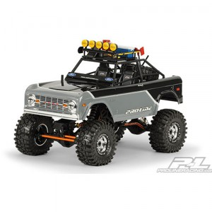 AP3310-60 1973 Ford Bronco CGR Clear Body with CGR Roll Cage for 1:10 Rock Crawler