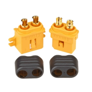 UP-AM1010G XT60 Connector Male/Female with Lock and Insulating Cap (암수 1pairs)