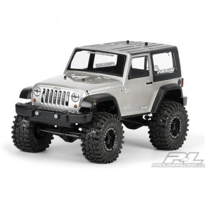 AP3322 2009 Jeep Wrangler Rubicon Clear Body for 1:10 Scale Crawlers