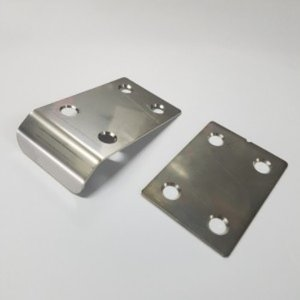 [DDOSMBX-8] DDOS 스테인레스 샤시 언더플레이트 Stainless Steel Rear Chassis Skid Protector (1mm 두께 / Mugen MBX-8 ) - 한대분