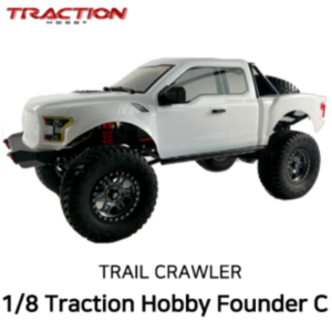 Founder C 1/8 대형라클 트랙션하비 파운더 Traction Hobby Founder C 1:8 4WD TRAIL CRAWLER